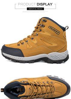 817a631a455 BONA New Arrival Men Hiking Shoes Anti-Slip Outdoor Sport Shoes Walking  Trekking Climbing Sneakers Zapatillas Comfortable Boots