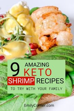 Here's a list of 9 keto shrimp recipes that might inspire you! A pretty good source of and fatty acids, vitamin and selenium. Keto Shrimp Recipes, Shellfish Recipes, Ketogenic Recipes, Low Carb Recipes, Diet Recipes, Diet Tips, Delicious Recipes, Best Keto Meals, Healthy Dinners
