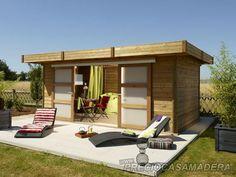 Bungalows modular VOUVANT 15m2 - Casas de Madera y bungalows en Tarragona   Diseños a medida