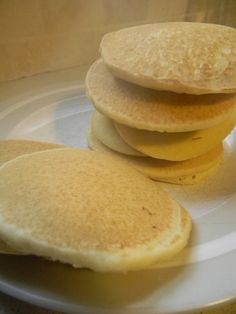 Rice Flour Pancakes (Dairy Free and Gluten Free) You will need: 1 cup rice flour, 2 teaspoons sugar, 2 teaspoons baking powder, ½ teaspoon salt, 1 egg, 1 teaspoon vanilla, 2 teaspoons coconut oil (or whatever oil or choose), and ¾-1 cup almond milk In a medium bowl, beat the egg. Add the d