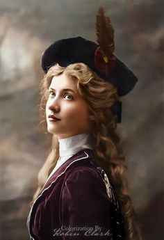 Evelyn Nesbit, Edwardian Hairstyles, Vintage Photos Women, Gibson Girl, Old Hollywood Glamour, Portraits, Cosplay Outfits, Vintage Movies, Timeless Beauty