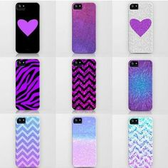 Love Case Collection #purple #heart #love #cases #phonecases #girl