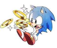 Awwwww sonic is losing his rings :( Hedgehog Art, Sonic The Hedgehog, Shadow The Hedgehog, Sonic Fan Art, Sonic E Amy, Game Character, Character Design, How To Draw Sonic, Sonic The Movie