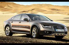 Love these - Audi A7 Sportback allroad quattro