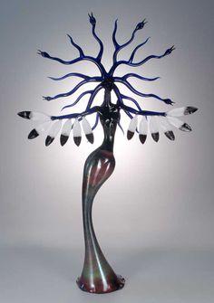 Glass Sculptures by Robert Mickelsen