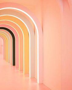 The House that Lars Built ( Photo Backgrounds, Peach Aesthetic, Architecture Details, Colour Architecture, Design Furniture, Grafik Design, Pantone Color, Installation Art, Color Trends