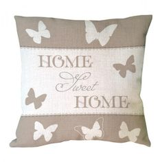 letter sweet home with butterfly printed custom throw pillow case decorative cotton linen vintage luxury cushion covers. Subcategory: Home Textile. Vintage Butterfly, Butterfly Print, Wall Patterns, Print Patterns, Throw Pillow Cases, Throw Pillows, Sweet Home, Patterned Chair, Luxury Cushions