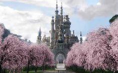 Alice in wonderland castle háttérkép 244096 Plain Girl, Medieval, Abandoned Castles, Disney Movies, Alice In Wonderland, Barcelona Cathedral, Paris Skyline, To Go, Wonderland