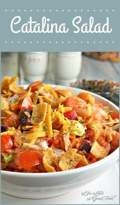 Catalina Salad   Life, Love, and Good Food