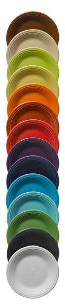 Fiestaware - one of the simple pleasures of life - COLOR - when I open my kitchen cabinet the colors of my fiestaware always make me smile.