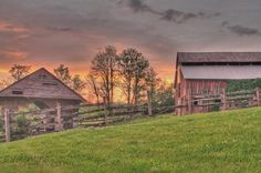 Crimson and Clover near Johnson City, TN by Courtney Valentine Photography--Amazing Sunrises and Sunsets