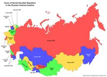 The Republics of the Soviet Union.