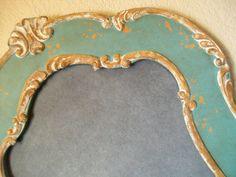 EXTRA LARGE ORNATE Vintage Frame Chalkboard by shabbymcfabby, $219.00