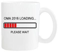 Mister Merchandise Kaffetasse Becher Omi Großmutter Oma 2016 Loading...Please Wait Teestasse Weiß - http://geschirrkaufen.online/mister-merchandise/weiss-mister-merchandise-kaffeetasse-becher-oma
