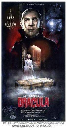 Dracula Poster 3:100th Anniversary (1897-1997)