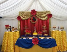 Omar & Genesis Beauty and the Beast Birthday Party - Beauty & The beast
