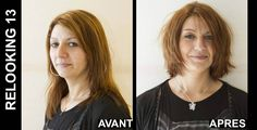 Christine #Margossian made 25 women want to enjoy the summer thanks to a #makeover. Discover with #pictures this hard task accomplished by L'Oréal Professional. #relooking http://www.livecoiffure.com/en/wp_gallery/relooking-13