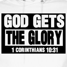 GOD GETS THE GLORY Men's T-Shirt ✓ Unlimited options to combine colours, sizes & styles ✓ Discover T-Shirts by international designers now! Bible Verses Quotes, Bible Scriptures, Faith Quotes, Uplifting Quotes, Inspirational Quotes, 5 Solas, Soli Deo Gloria, God Jesus, Jesus Christ