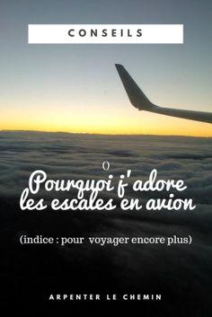 Pourquoi faire de longues escales en avion // Arpenter le chemin, blog de voyage #travel #voyage #avion #flight #conseils #tips Blog Voyage, Travel Tips, Road Trip, How To Plan, Airports, Traveling, Kids, Photos, Planes