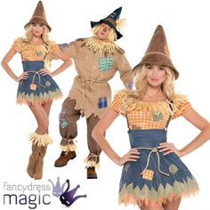 #Adult mens ladies scarecrow book week #wizard of oz fairytale #fancy dress costu,  View more on the LINK: 	http://www.zeppy.io/product/gb/2/351644744356/