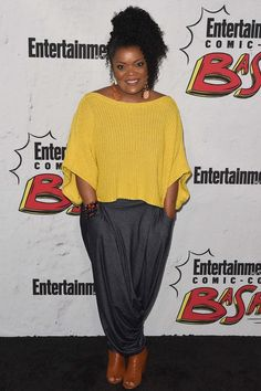 Yvette Nicole Brown attends Entertainment Weekly's annual Comic-Con party in celebration of Comic-Con 2017 at Float at Hard Rock Hotel San Diego on July 2017 in San Diego, California. Nicole Ari Parker, Jasika Nicole, Yvette Nicole Brown, Chris Tucker, Letitia Wright, Issa Rae, Tracee Ellis Ross, Jada Pinkett Smith, Angela Simmons