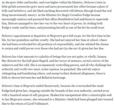 New J.K.Rowling Halloween´s story about Umbridge part 3