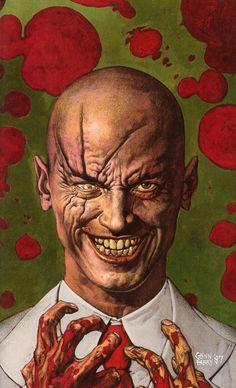 Preacher by Garth Ennis and Steve Dillon is a masterpiece of modern comicbook story telling. Sci Fi Comics, Dc Comics Art, Comic Book Covers, Comic Books Art, Book Art, Preacher Amc, Steve Dillon, Comic Book Villains, Vertigo Comics