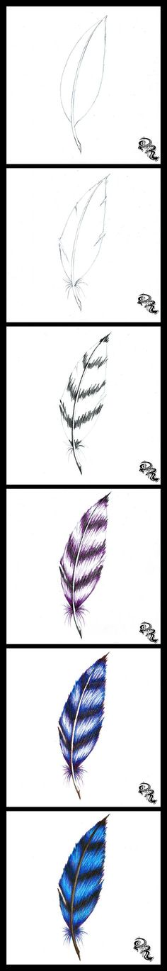 how to draw hair with colored pencils