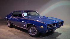 1969 Pontiac GTO The Judge – Blue Hurst Edition