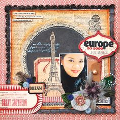 Europe or Bust:  **Scrap That! January Kit** - Scrapbook.com