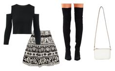 """Untitled #140"" by dancequeen247 ❤ liked on Polyvore featuring Alexander McQueen, Jeffrey Campbell and Miss Selfridge"
