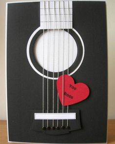 "And now for something a little bit different! I made some ""music themed "" cards for this month's Cardmaking and Papercraft magaz. Love Cards, Diy Cards, Tarjetas Diy, Karten Diy, Cardmaking And Papercraft, Masculine Cards, Valentine Day Cards, Creative Cards, Scrapbook Cards"