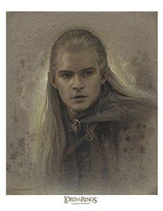 Legolas Greenleaf 12 x 16 Antique Paper Giclee Art print - The Lord of the Rings VanderStelt Studio http://www.amazon.com/dp/B00UUHYB8U/ref=cm_sw_r_pi_dp_Gnmcvb1S1F1KZ