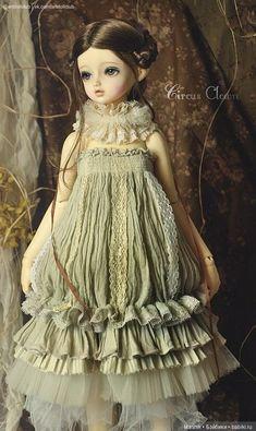 Pretty Dolls, Cute Dolls, Beautiful Dolls, Ooak Dolls, Barbie Dolls, Mori Fashion, Doll Costume, Little Doll, Ball Jointed Dolls