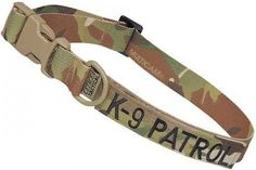 Large Tactical Dog Collar 17-23 in. K-9 PATROL