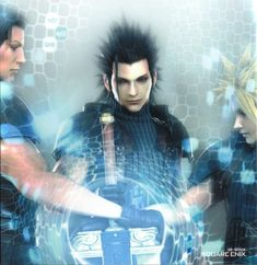 Cloud, Zack, and Angeal by ~AmeliaKader on deviantART