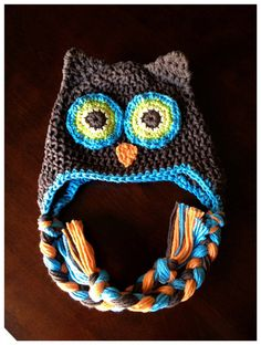 So cute owl hat by krinercreations on Etsy, $19.00