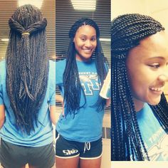 #BueBox #BoxBraids #NaturalExtensions