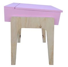 Toddler School Desk by RAW - handcrafted from a mixture of old (RNA showgrounds) and new timber. Range of colours available.