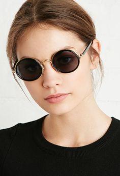 Classic Round Sunglasses | Forever 21 - 1000154701