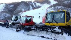 North Korea Ski Resort May Breach UN Sanctions Images show newly manufactured North American and European equipment being used at North Korea's first skiing venue. (The three snow ploughs, two of them made by the Italian firm Prinoth)