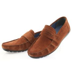Men's moccasins of well-known and renowned Polish brand Nikopol in a very beautiful dark-camel suede. The shoes are made of natural leather. Moccasins Mens, Natural Leather, Suede Leather, Loafers Men, Camel, Oxford Shoes, Dress Shoes, Footwear, Shoe