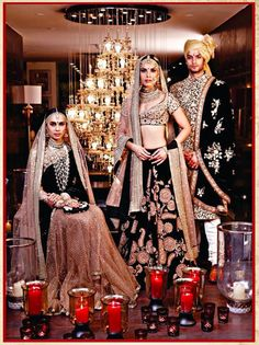 The recent bridal collection by Sabyasachi for Bridal Asia campaign 2014