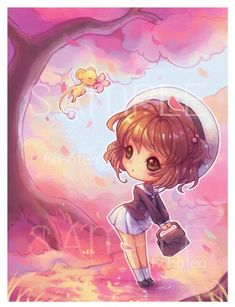 Flower Watch by kokotea on DeviantArt Cardcaptor Sakura, Sakura Card Captor, Sailor Moon Tattoos, Opening An Etsy Shop, Clear Card, Anime Toys, Animation, Magical Girl, Chibi