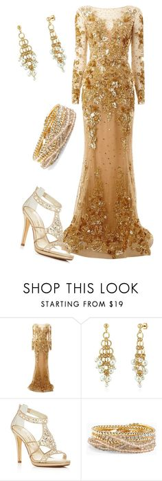 """""""District 9: Grain"""" by madalynkw on Polyvore featuring Zuhair Murad, BERRICLE, Caparros and Torrid"""