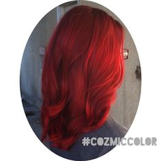 Mermaid Hair Using Joico 7xr And Color Intensity Layered They Create A Beautiful Red That