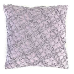 John Robshaw Bindi Mali Lavender Decorative Pillow Pillows