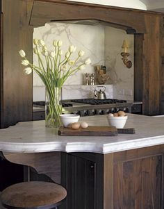 Why not use reclaimed wood to build your dream kitchen?