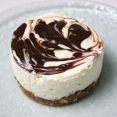 Mousse chocolat blanc sur base de biscuit, très facile et rapide