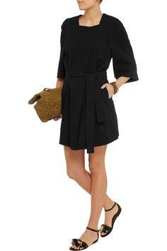 Étoile Isabel MarantBlack cotton mini dress